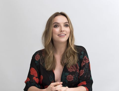 'The White Princess' TV series press conference, Los Angeles, USA with Jodie Comer 03 Apr 2017