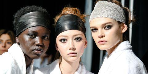 Hair, Eyebrow, Fashion, Beauty, Skin, Headgear, Lip, Headpiece, Fashion accessory, Turban,