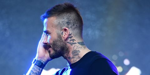 Seemingly Out Of Space David Beckham Reveals Space Age