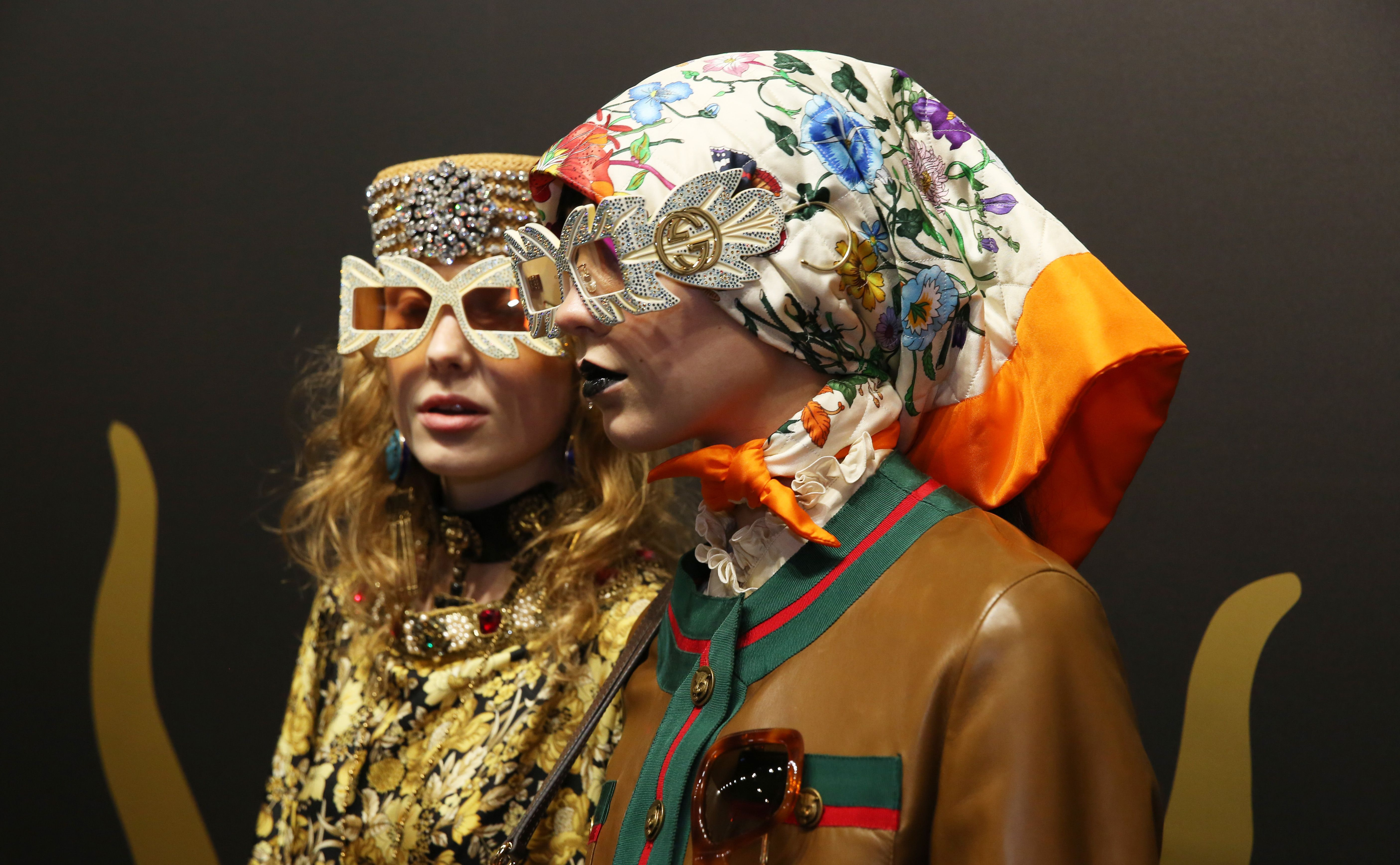 Gucci Cruise: Alessandro Michele Makes His Hellscape The Most Glamorous Place In The World