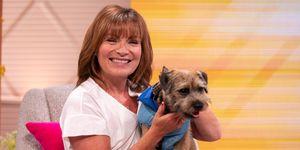 Lorraine Kelly dog Angus