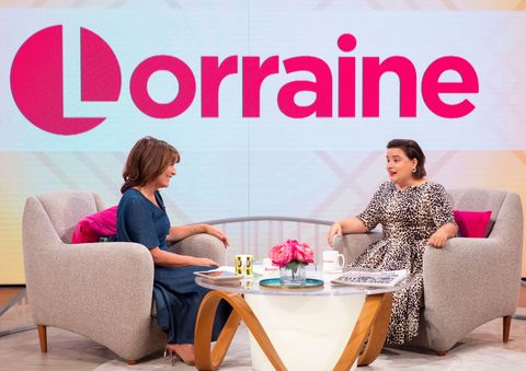 ITV Lorraine susan calman strictly come dancing gay marriage