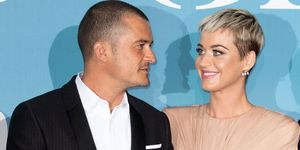 Katy Perry and Orlando Bloom at Monte Carlo Gala, for the Global Ocean 2018, Monaco - 26 Sep 2018