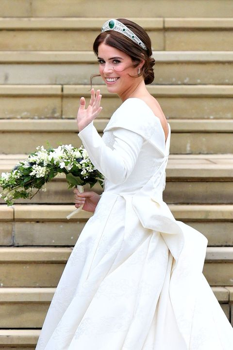 Princess Eugenie\'s Peter Pilotto wedding dress – See pictures of ...