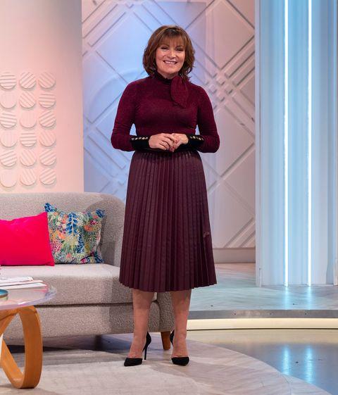 'Lorraine' TV show, London, UK - 28 Nov 2018