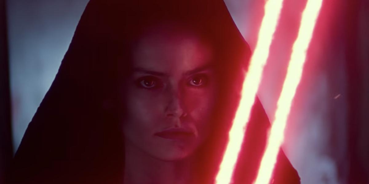 Star Wars Artist Shares Alternate Rise Of Skywalker Dark Rey Look