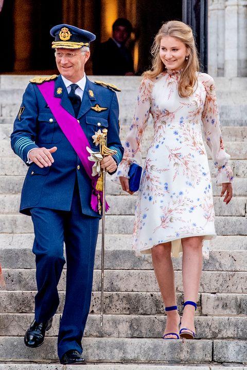 reyes de Bélgica, reyes de Bélgica Día Nacional, Los Reyes de Bélgica celebran el Día Nacional, Los Reyes de Bélgica celebran seis años de reinado, Los Reyes de Bélgica celebran en familia el Día Nacional, Felipe y Matilde de Bélgica celebran seis años en el trono, la princesa  Elisabeth, príncipe Gabriel, príncipe Manuel, princesa Éléonore