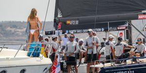 Rey Felipe, en las regatas de Mallorca
