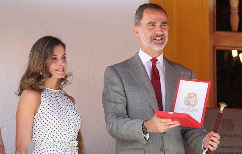Felipe VI y doña Letizia viajan a Bailén para participar en los actor conmemorativos por el210 aniversario de la victoria del ejército español ante el francés durante la Guerra de la Independencia.