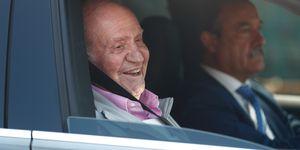 rey Juan Carlos, El rey Juan Carlos recibe el alta hospitalaria, El rey Juan Carlos se recupera en casa tras una semana de ingreso, Don Juan Carlos recibe el alta hospitalaria