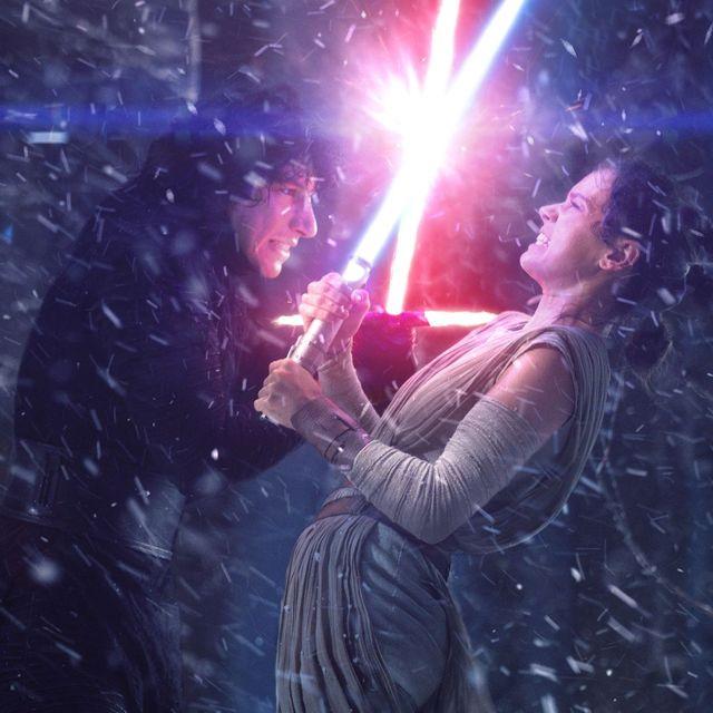 rey kylo ren star wars