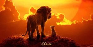 El rey león póster