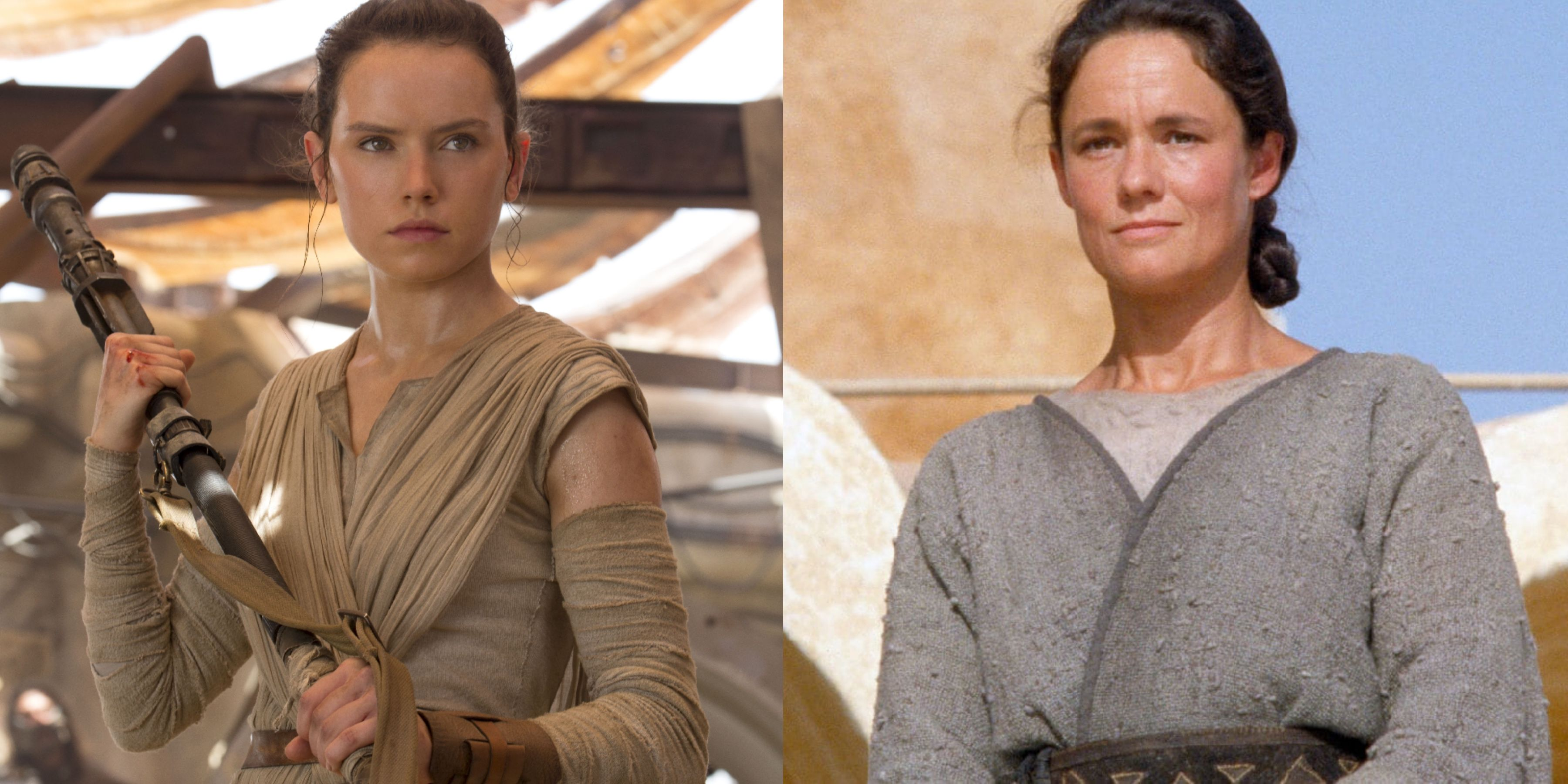 Star Wars The Rise Of Skywalker Rey Parents Theory Is Rey Really Shmi Trapped In A Time Travel Loop
