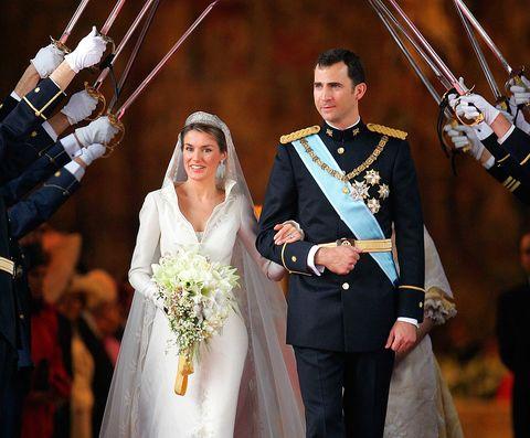 los reyes de españa celebran su 14 aniversario de boda