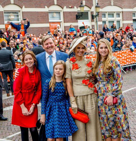 Los reyes de Holanda celebran el Día del Rey