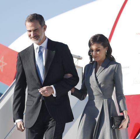 Reyes España visita marruecos