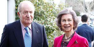 Don Juan Carlos y doña Sofía celebran 57 años de casados