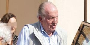 El rey Juan Carlos ya toma medicación oral