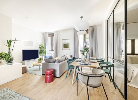 Apartamento en Madrid reformado y decorado por Rez Estudio