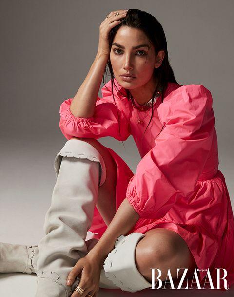 【封面人物】「想當模特兒,要先學會被拒絕?」維密天使lily aldridge暢談超模人生的正念哲學