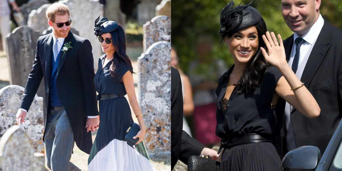 Aquazzura, Club Monaco, Meghan Markle, Philip Treacy, 女星穿搭, 梅根馬克爾, 皇室穿搭, 穿搭, 英國皇室,內衣,哈利王子,婚禮穿搭