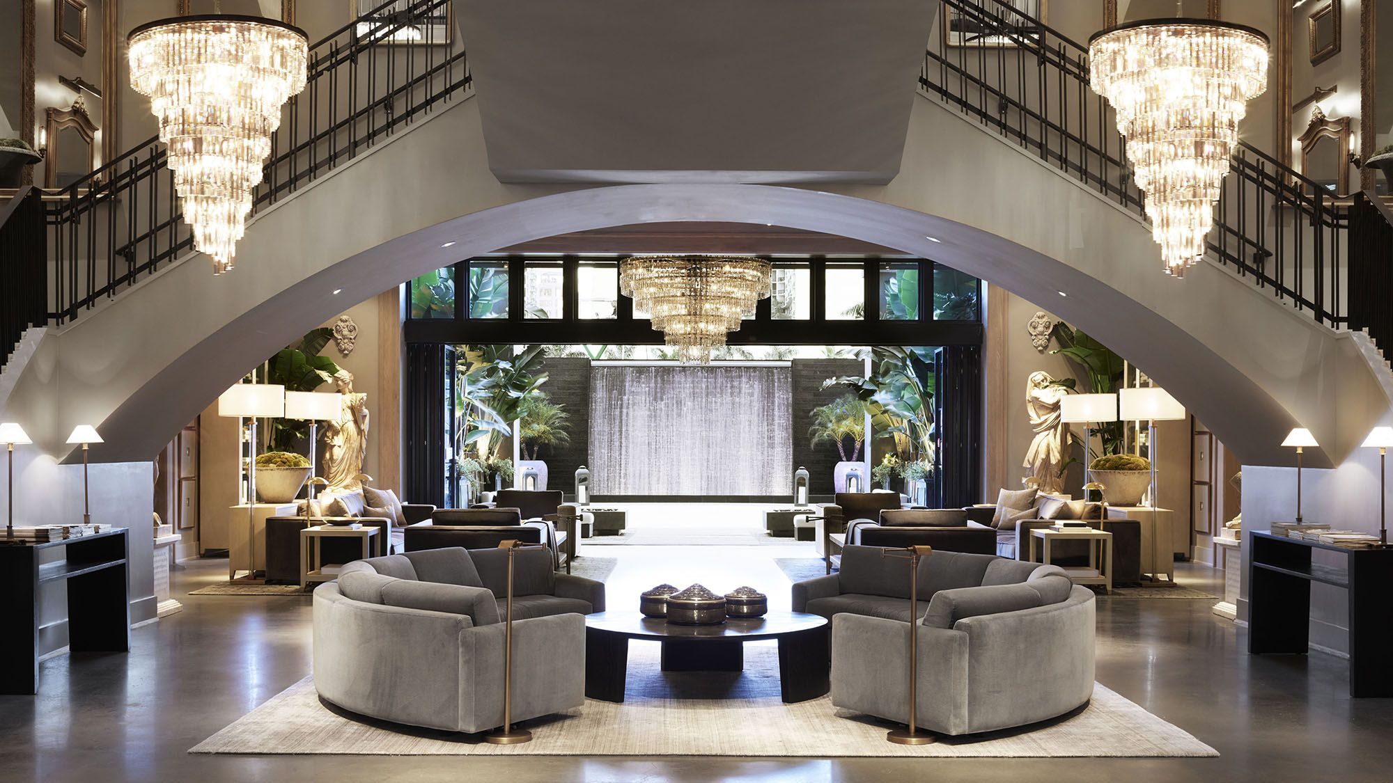 Restoration Hardware Mansion Store Palm Beach Florida