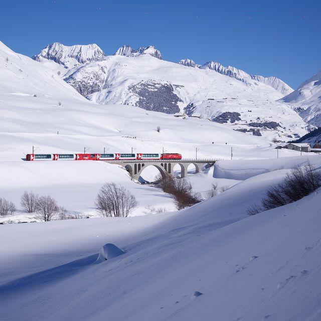 Glacier Express - Best train rides