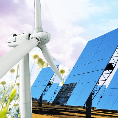 Sky, Wind turbine, Windmill, Architecture, Wind, Cloud, Technology, Public utility, Wind farm, Pole,