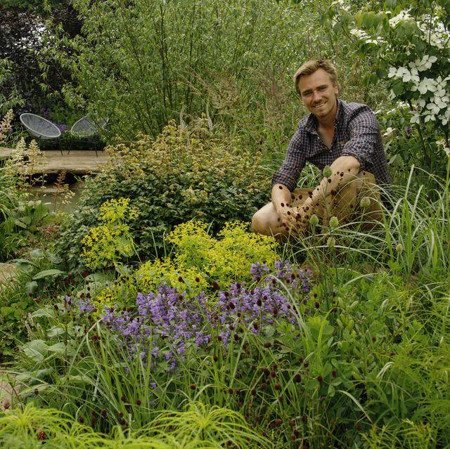 rhs garden for a green future designed by jamie butterworth   hampton court palace garden festival 2021
