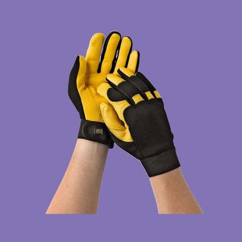 rhs soft touch gardening gloves