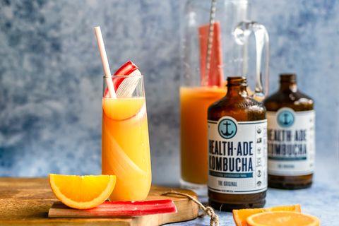Drink, Alcoholic beverage, Orange drink, Paloma, Beer cocktail, Distilled beverage, Rum swizzle, Fuzzy navel, Orange soft drink, Planter's punch,
