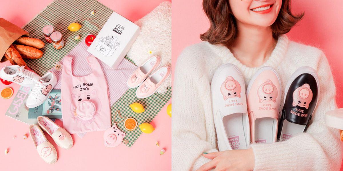 Disney, Grace Gift, 新年商品, 火腿豬, 玩具總動員, 聯名, 豬年,農曆新年,小豬配件