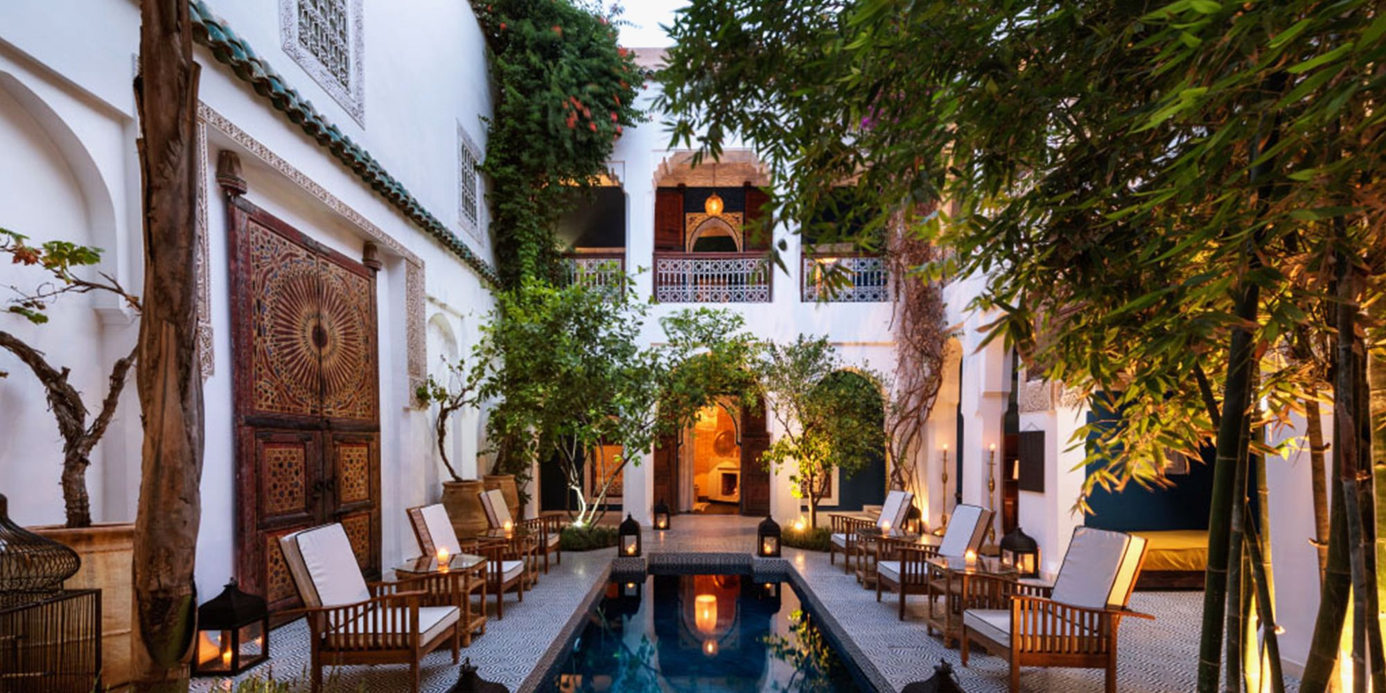 Have an Authentic Moroccan Experience at a Riad in Marrakech