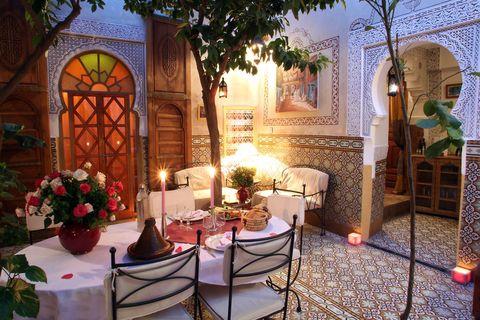 Riad Timel en Marrakech, Marruecos