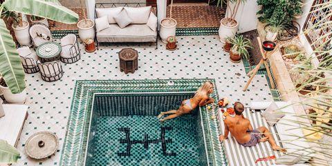 Riad Yasmine en Marrakeck, instagram doyoutravel