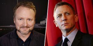 Rian Johnson y Daniel Craig junto en 'Knives Out'