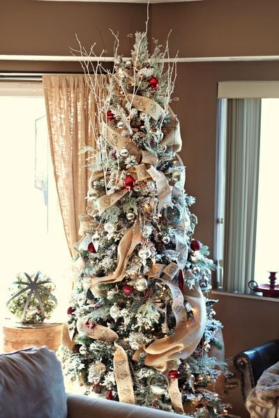 How To Decorate A Christmas Tree Professionally With Ribbon.How To Put Ribbon On A Christmas Tree Ideas For Ribbon