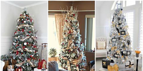 ribbon christmas tree ideas - Decoration And Interior Design