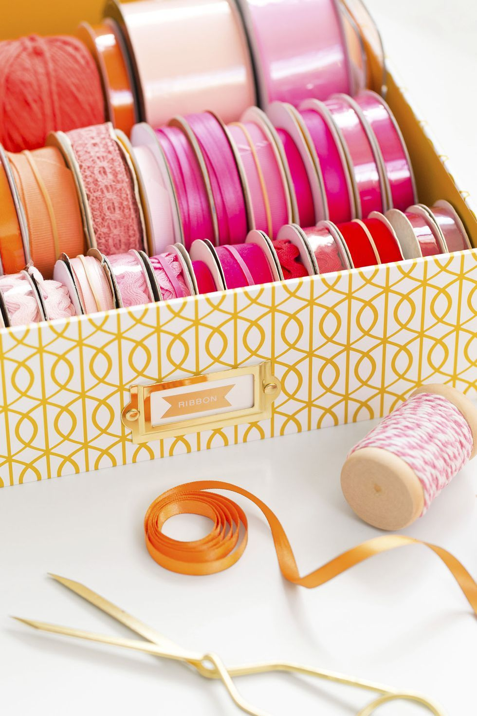 How to Organize Wrapping Paper - 15 Gift Wrap Organization Ideas