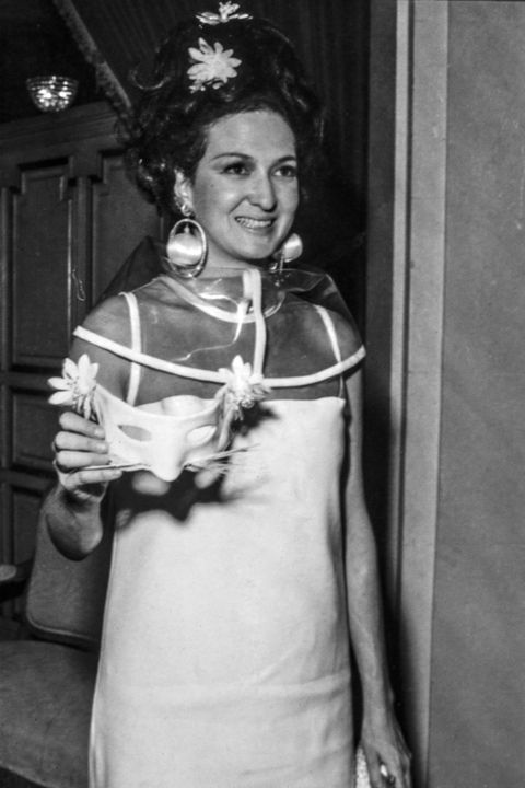 Jacqueline de Ribes At Truman Capote BW Ball