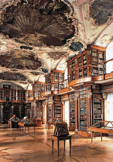abbey library of saint gallザンクトガレン修道院図書館