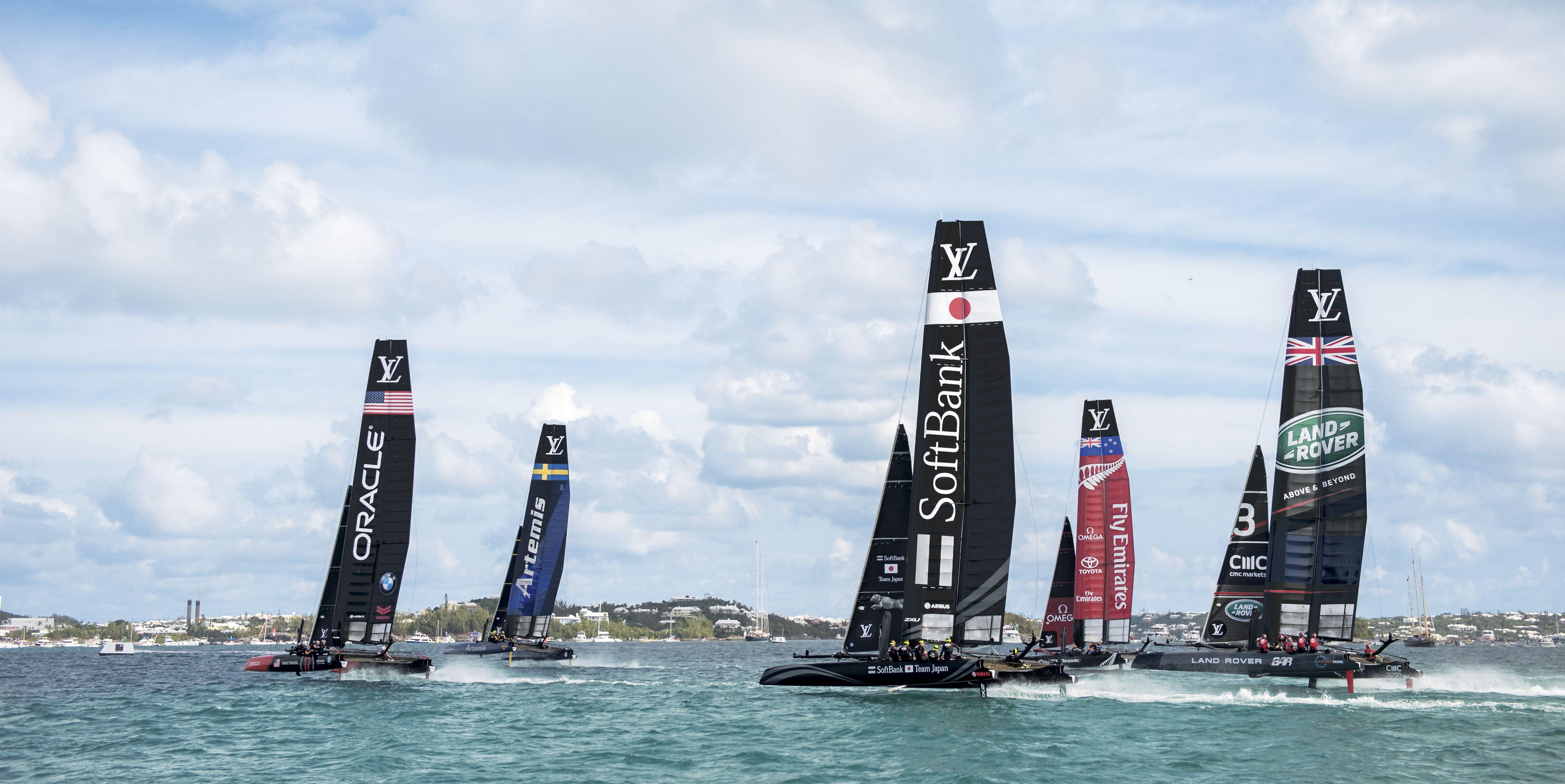 America's Cup Bermuda Boats