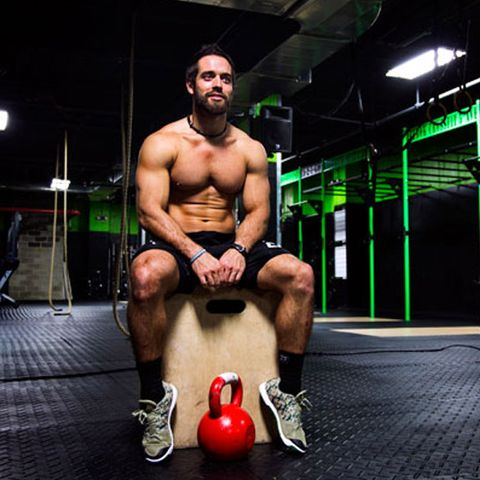 Weights, Exercise equipment, Kettlebell, Chest, Sports equipment, Muscle, Physical fitness, Barechested, Arm, Bodybuilding,