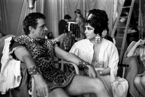 Richard Burton and Elizabeth Taylor - Cleopatra