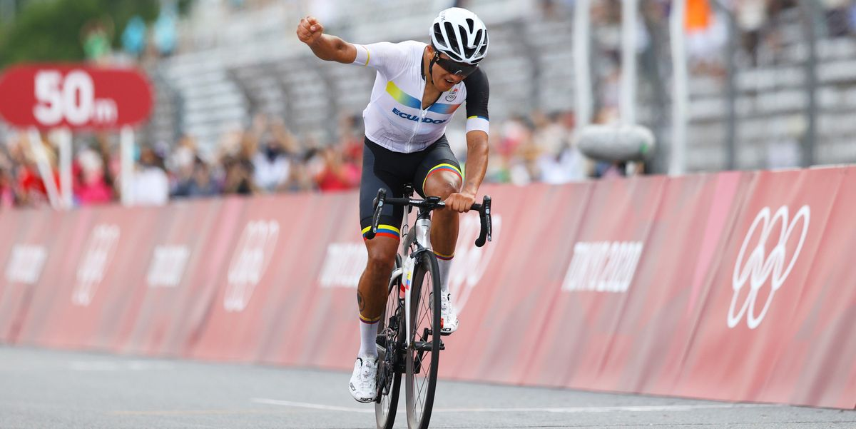 Ecuador's Richard Carapaz Scores the First Cycling Gold Medal of the Tokyo Olympics