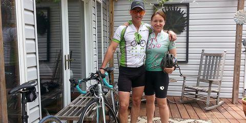 Richard Sexton has made his wife, Cheryl, a riding regular.