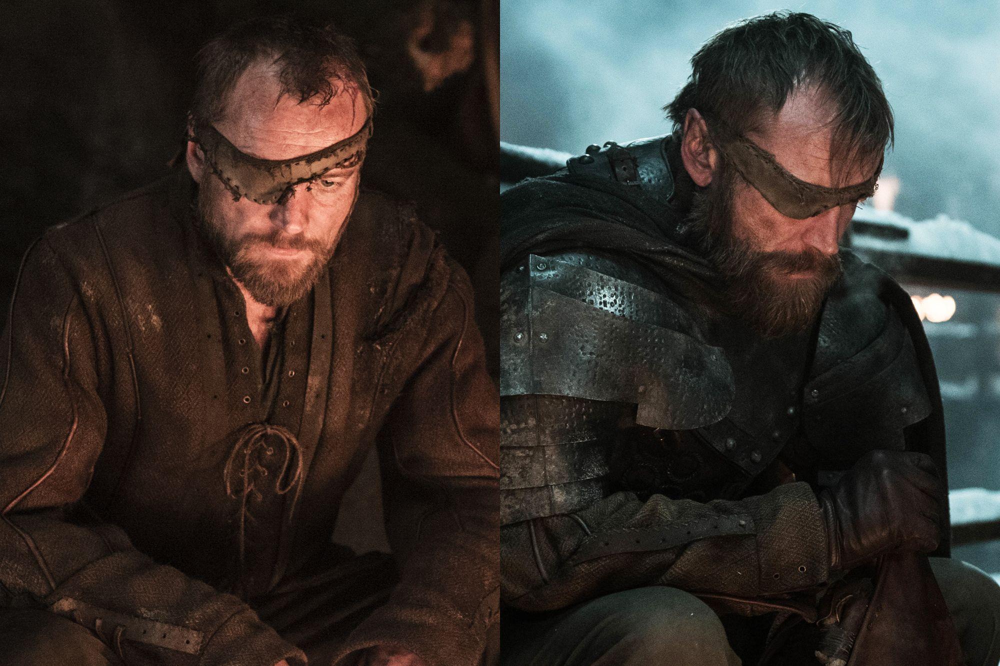 Richard Dormer as Beric Dondarrion Season Three to Season Eight.