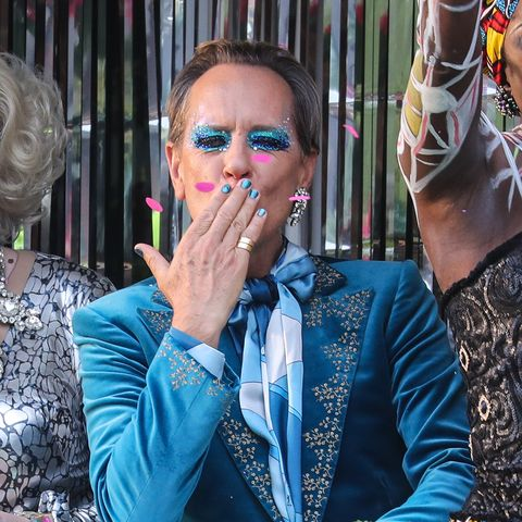 richard e grant, everybody's talking about jamie, filming