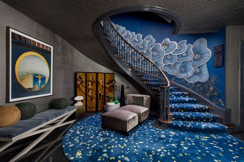 Kips Bay Decorator Show House, La monumentale scala di Richard Rabel