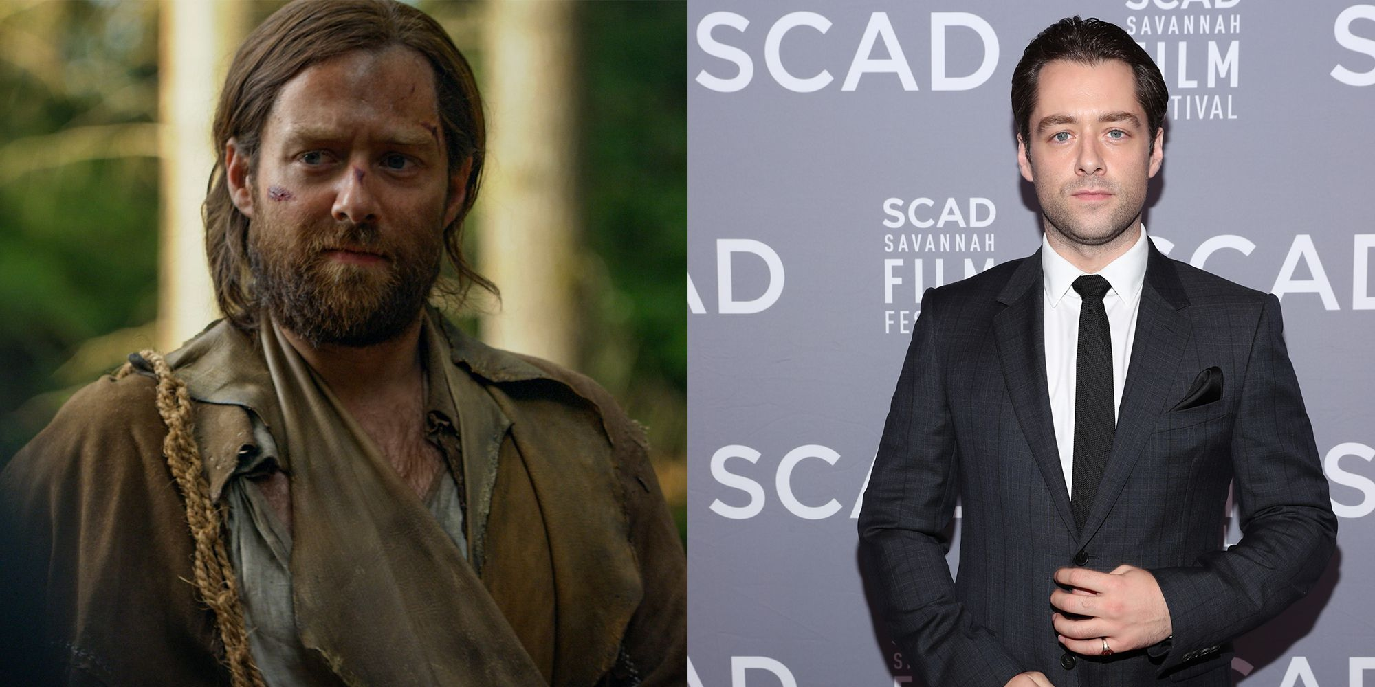15 Photos of What the Cast of Outlander Looks Like in Real Life